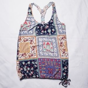 3 for $19  American Rag Quilt Print Tank Top